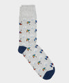 Corgi Welsh Weatherman x Corgi Shower Cotton Socks