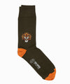 Corgi Angry Lion Cotton Blend Socks