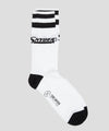 Corgi Exclusive Snyder's Logo Sock in White/Black
