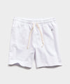 Lightweight Warm Up Short in White