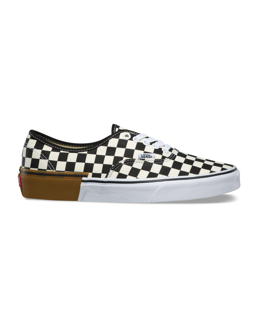 Vans Gum Block Authentic with Checkerboard 6602ff283