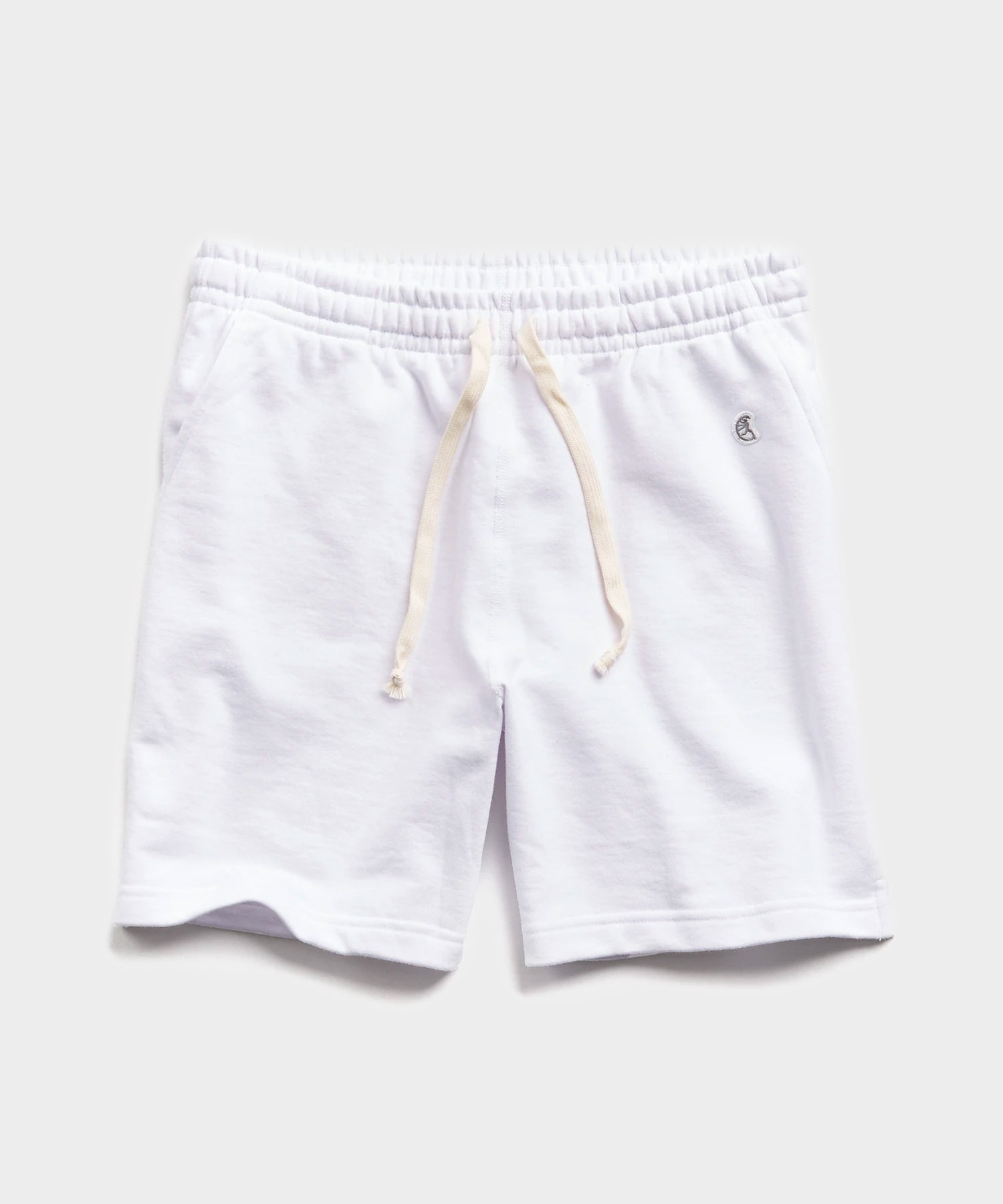 "7"" Lightweight Warm Up Short in White"