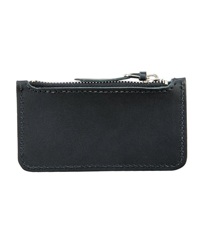 Red Wing Leather Zipper Pouch in Black