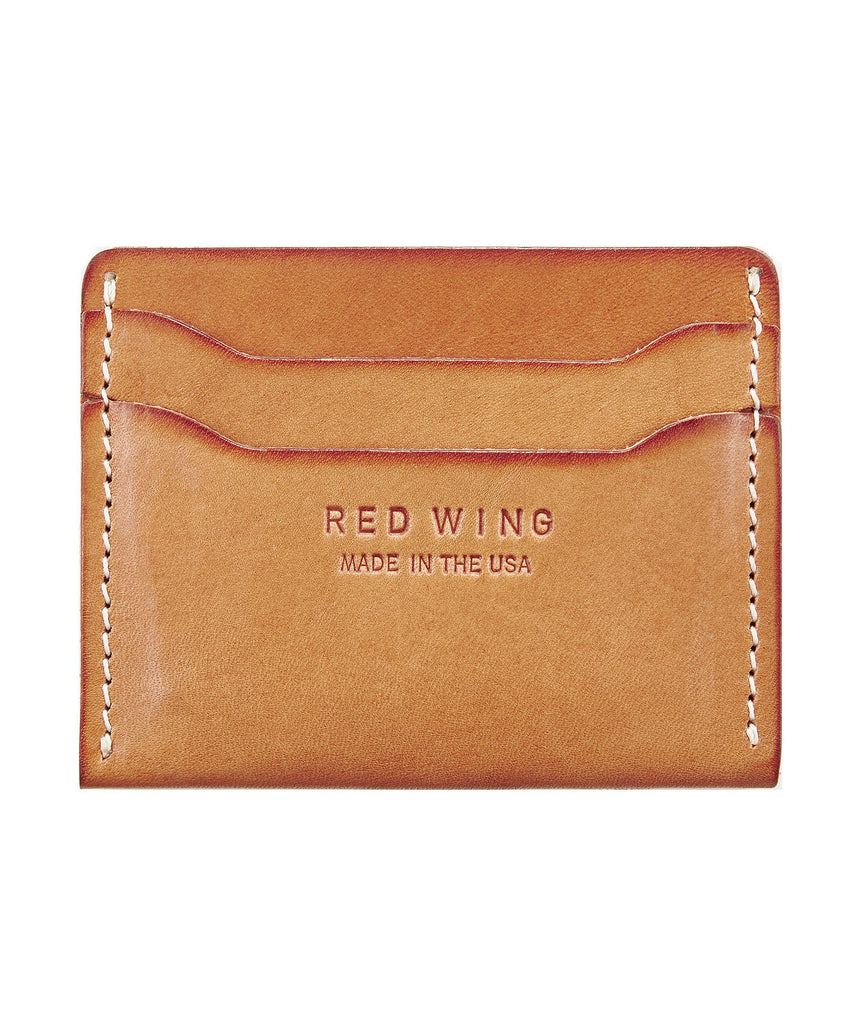 Red Wing Leather Card Holder in London Tan