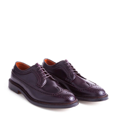Alden Cordovan Longwing In Dark Burgundy