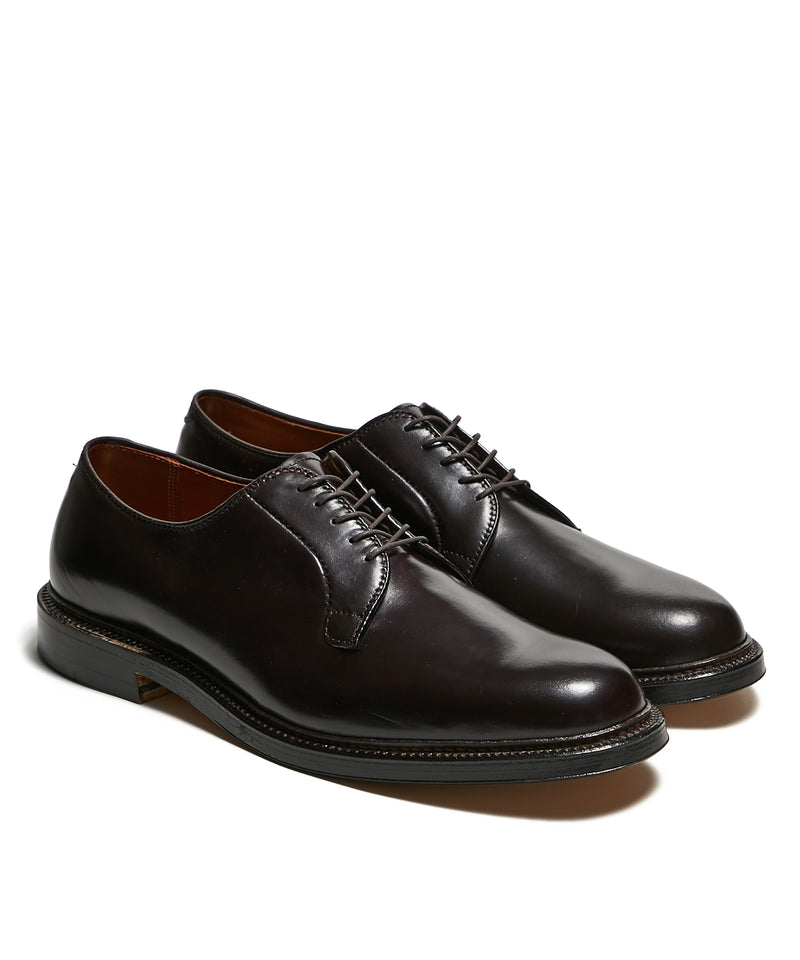 Alden Plain Toe Blucher Color 8 Shell Cordovan