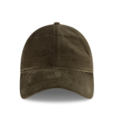 New Era Velvet 9Twenty Cap in Olive