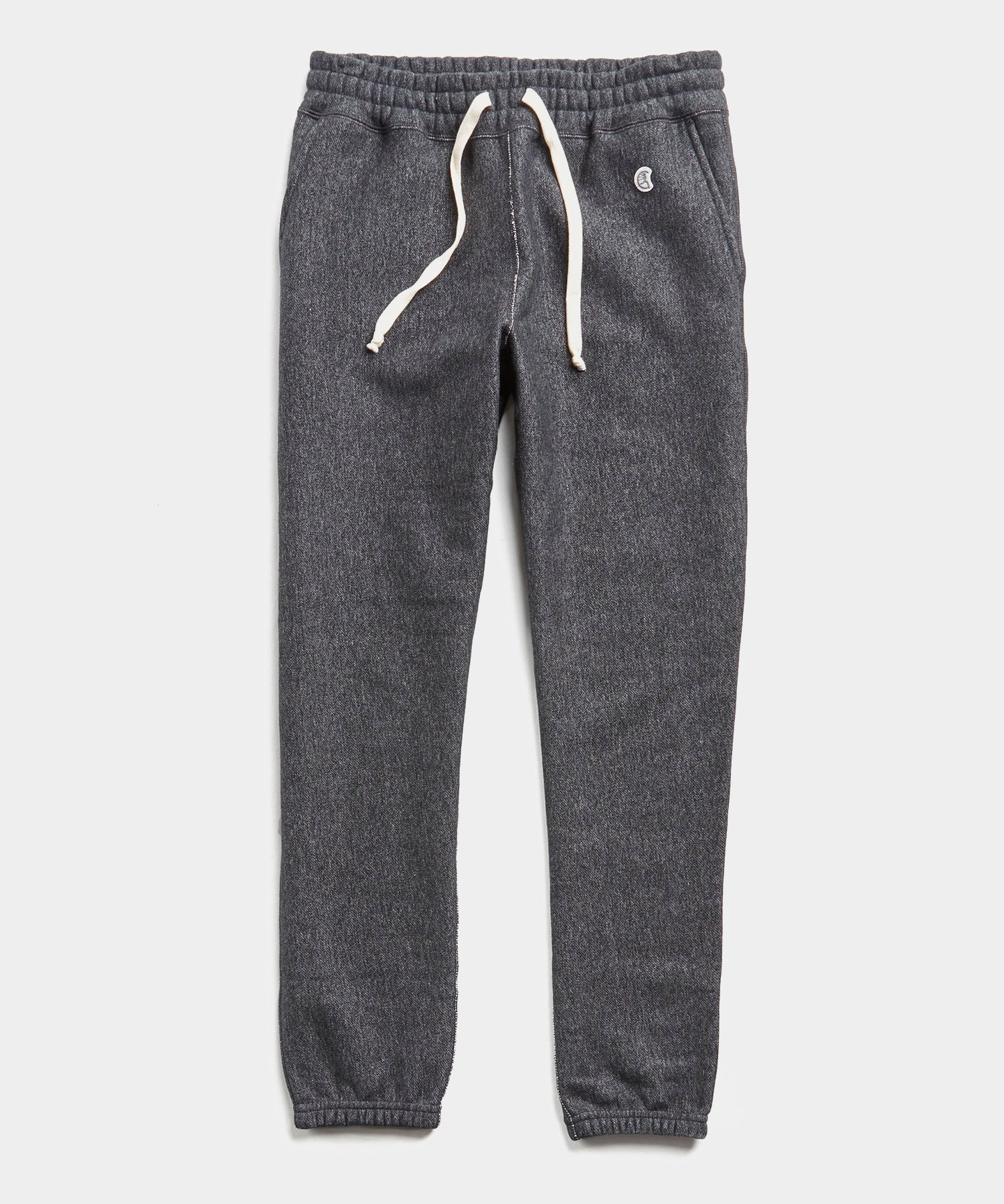 Heavyweight Classic Sweatpant in Black Mix