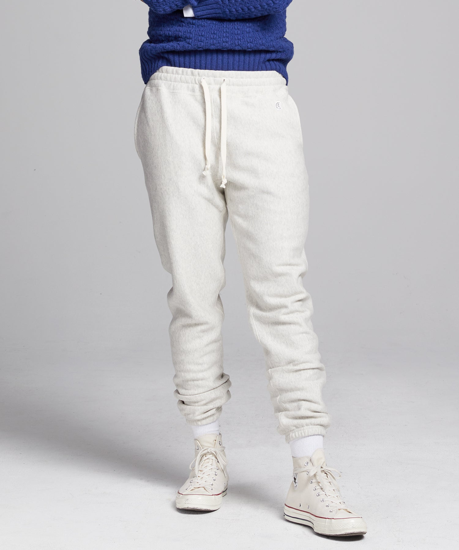 Classic Sweatpant in Eggshell Mix