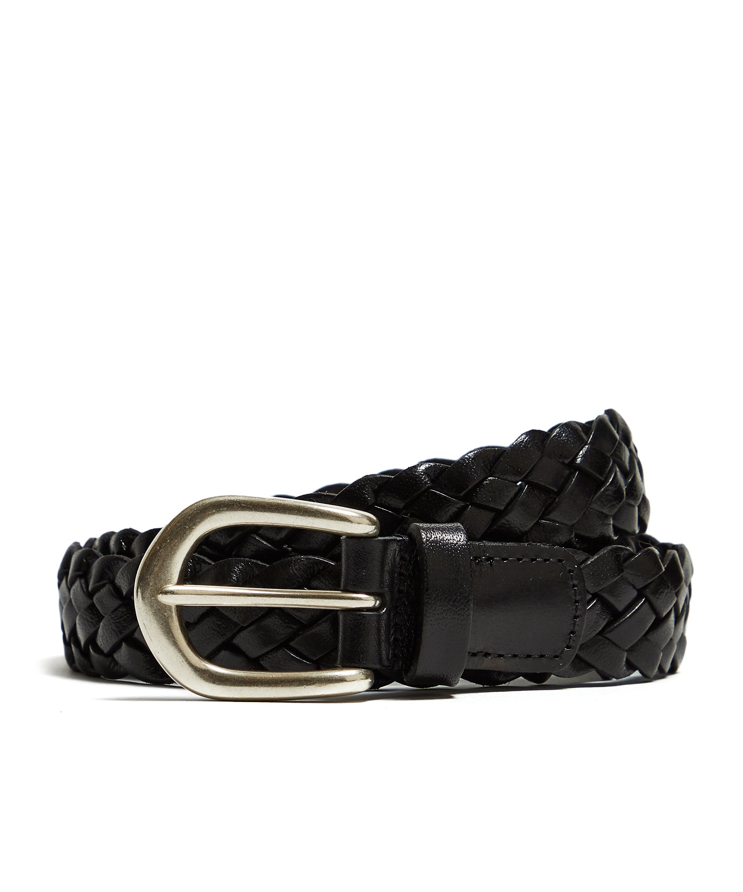 Anderson's Woven Leather in Black