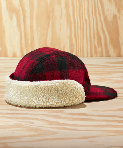 L.L.Bean x Todd Snyder Sherpa-Lined Hunting Cap in Rust