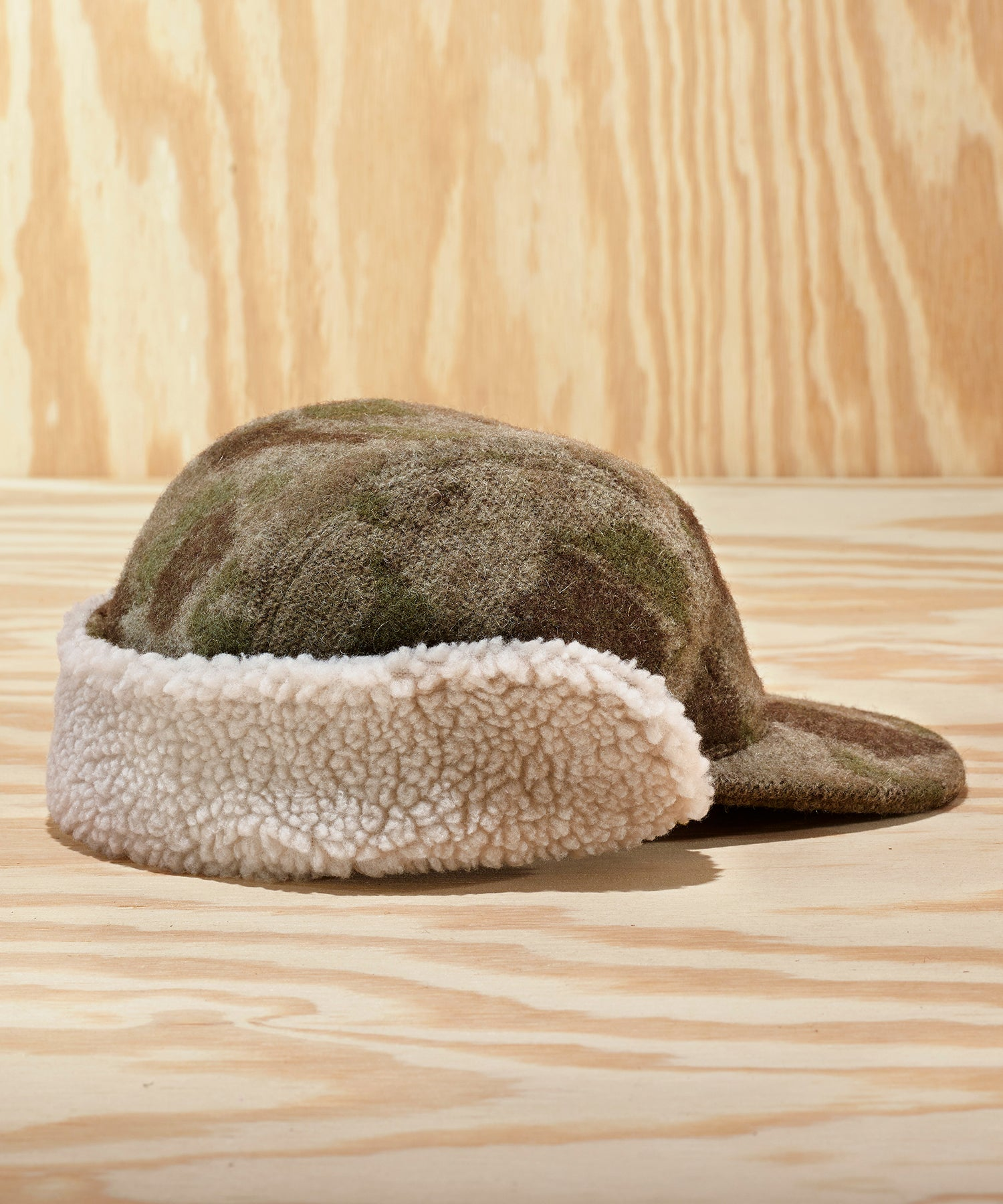 L.L.Bean x Todd Snyder Sherpa-Lined Hunting Cap in Camo