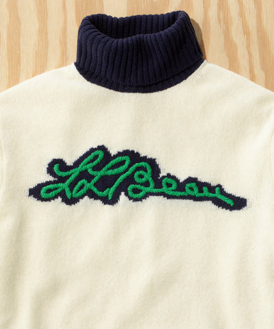 L.L.Bean x Todd Snyder Script Sweater in Sail