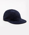 Variegated Corduroy Hat in Navy
