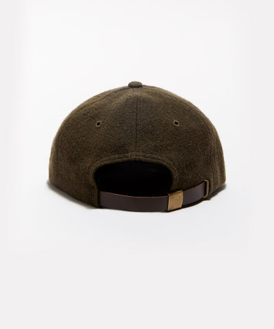 Wool Hat in Olive