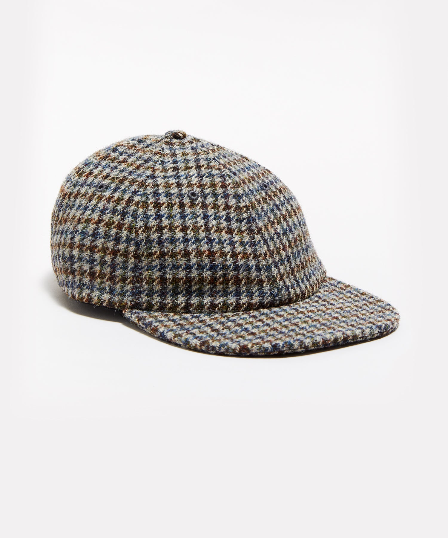Wool Houndstooth Hat