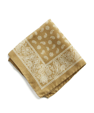 Italian Cotton Bandana Pocket Square