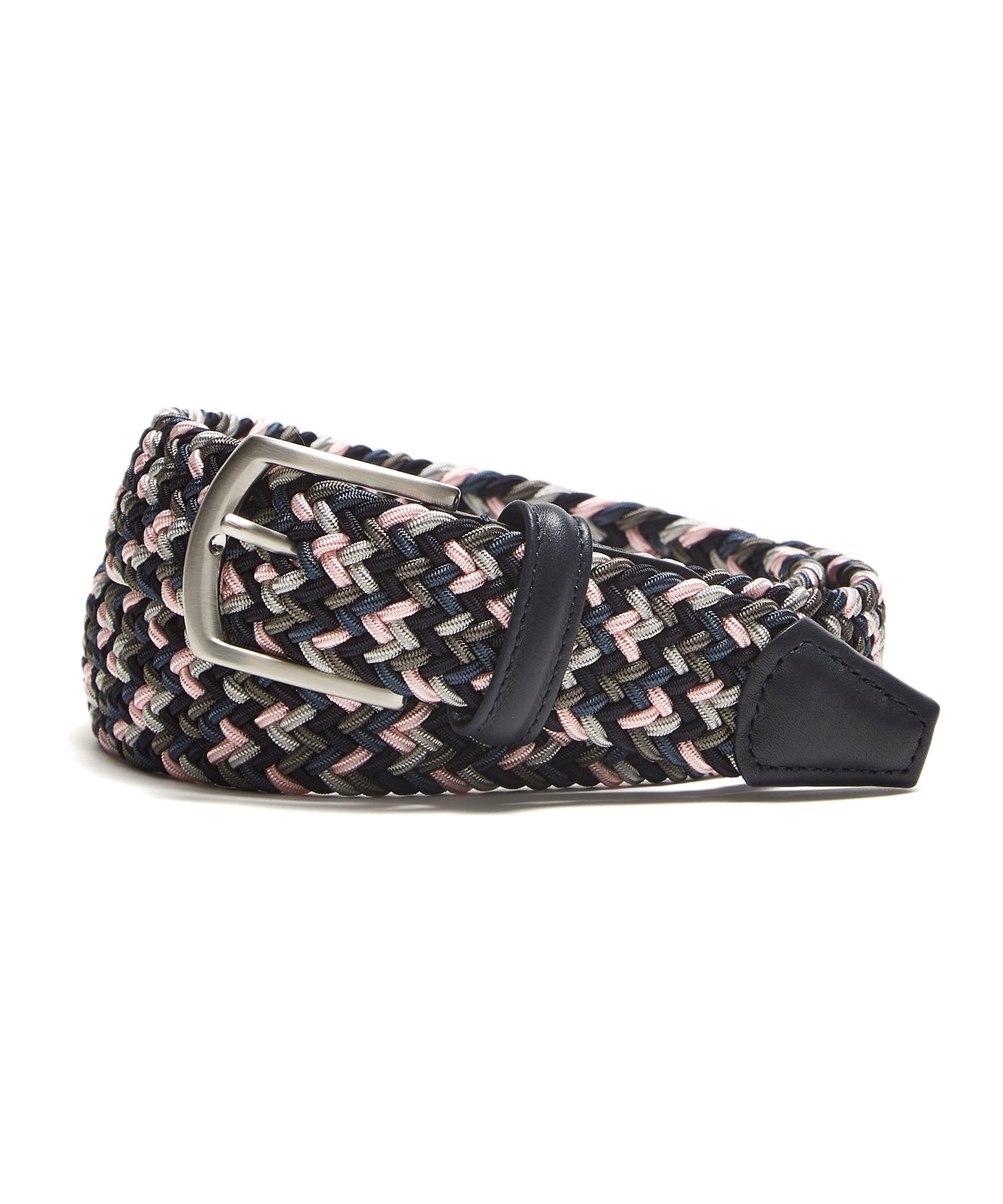 Anderson's Mixed Pink Woven Elastic Belt