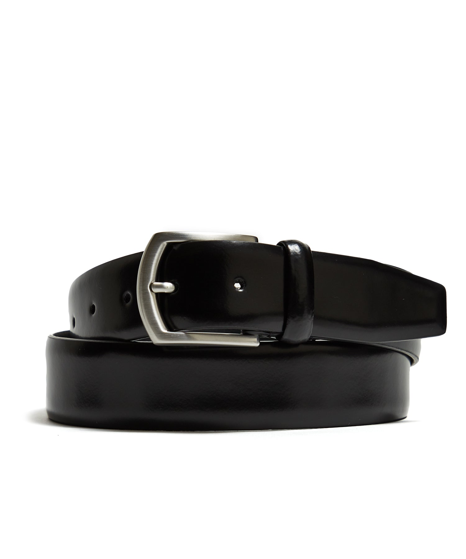 Anderson's Dress Leather Belt in Black