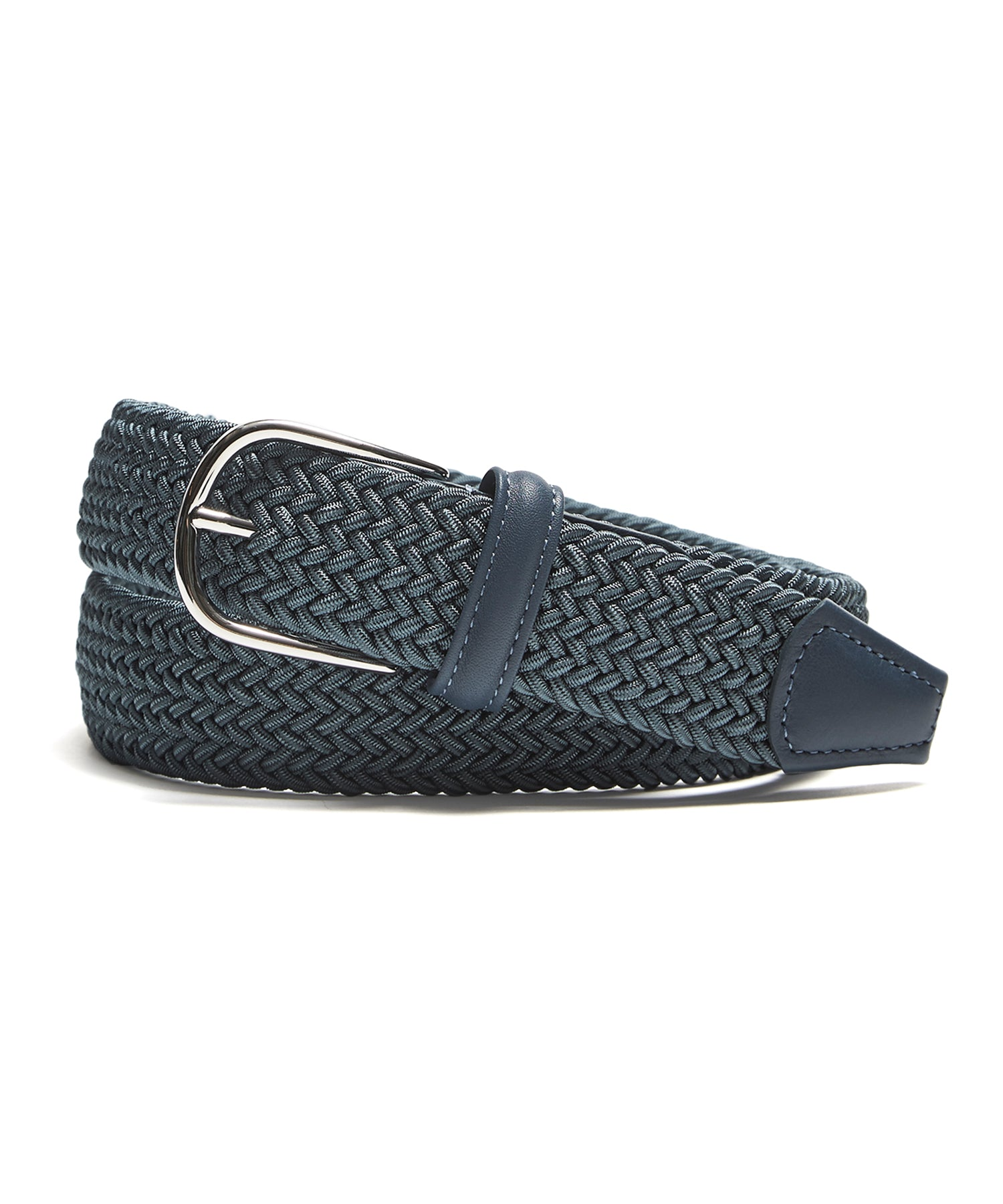 Anderson's Blue Woven Elastic Belt