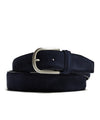 Anderson's Suede Belt in Navy