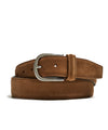 Anderson's Suede Belt in Light Brown
