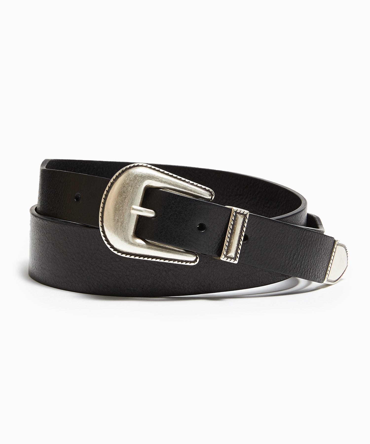 Anderson's Leather Western Belt in Black