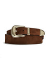 Anderson's Brown Suede Western Belt