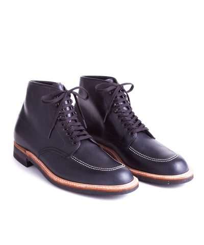 Alden Indy Boot in Black Calfskin Leather
