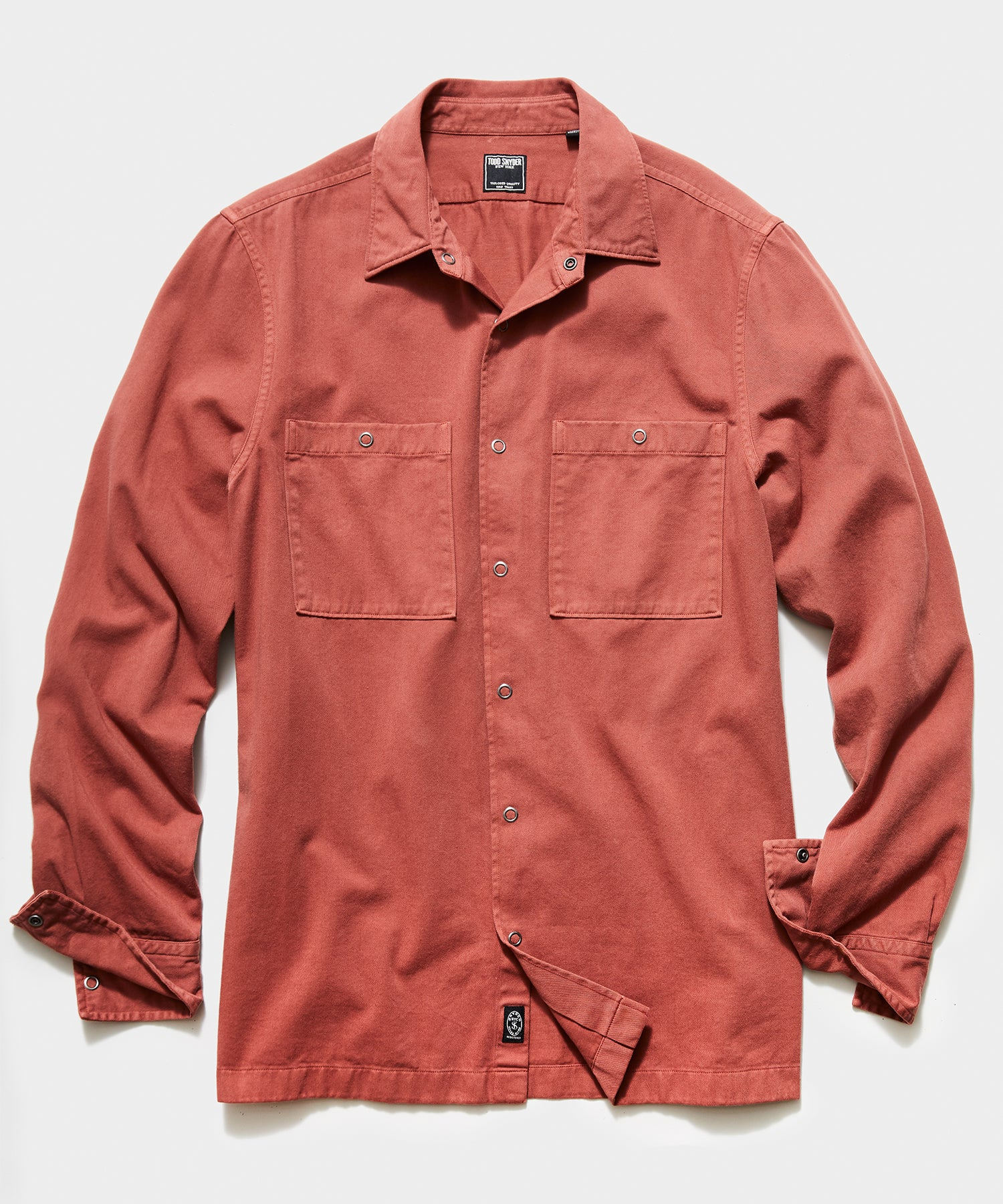 Workwear Snap Jacket in Rust
