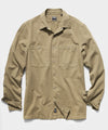 Workwear Snap Jacket in Khaki