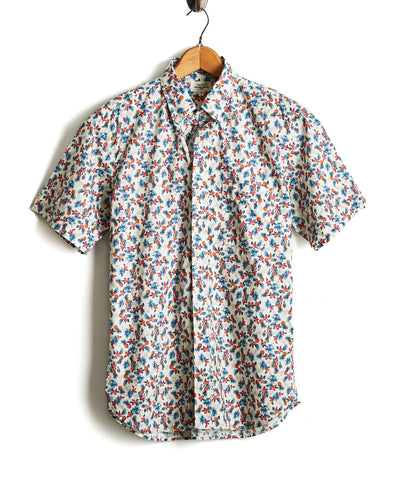 Hartford Pineapple Print Shirt