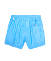 Hartford Kuta Solid Nylon Swim Trunks in Blue