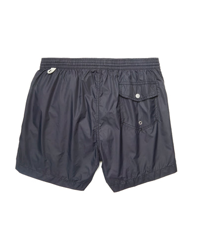 Hartford Kuta Solid Swim Trunks in Black