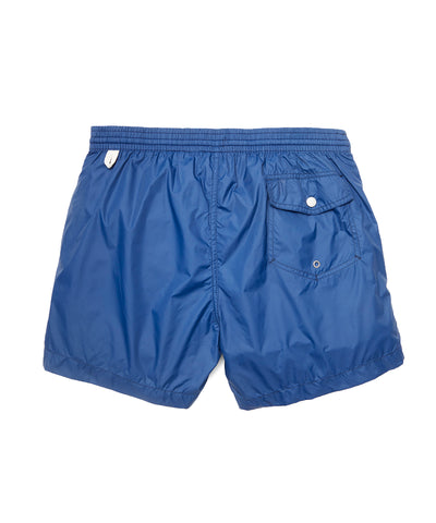 Hartford Kuta Solid Swim Trunks in Navy