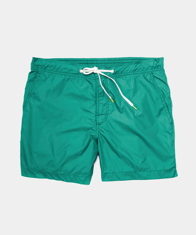 Hartford Kuta Swim Trunk in Green