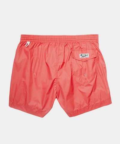 Hartford Kuta Swim Trunk in Tomato Red