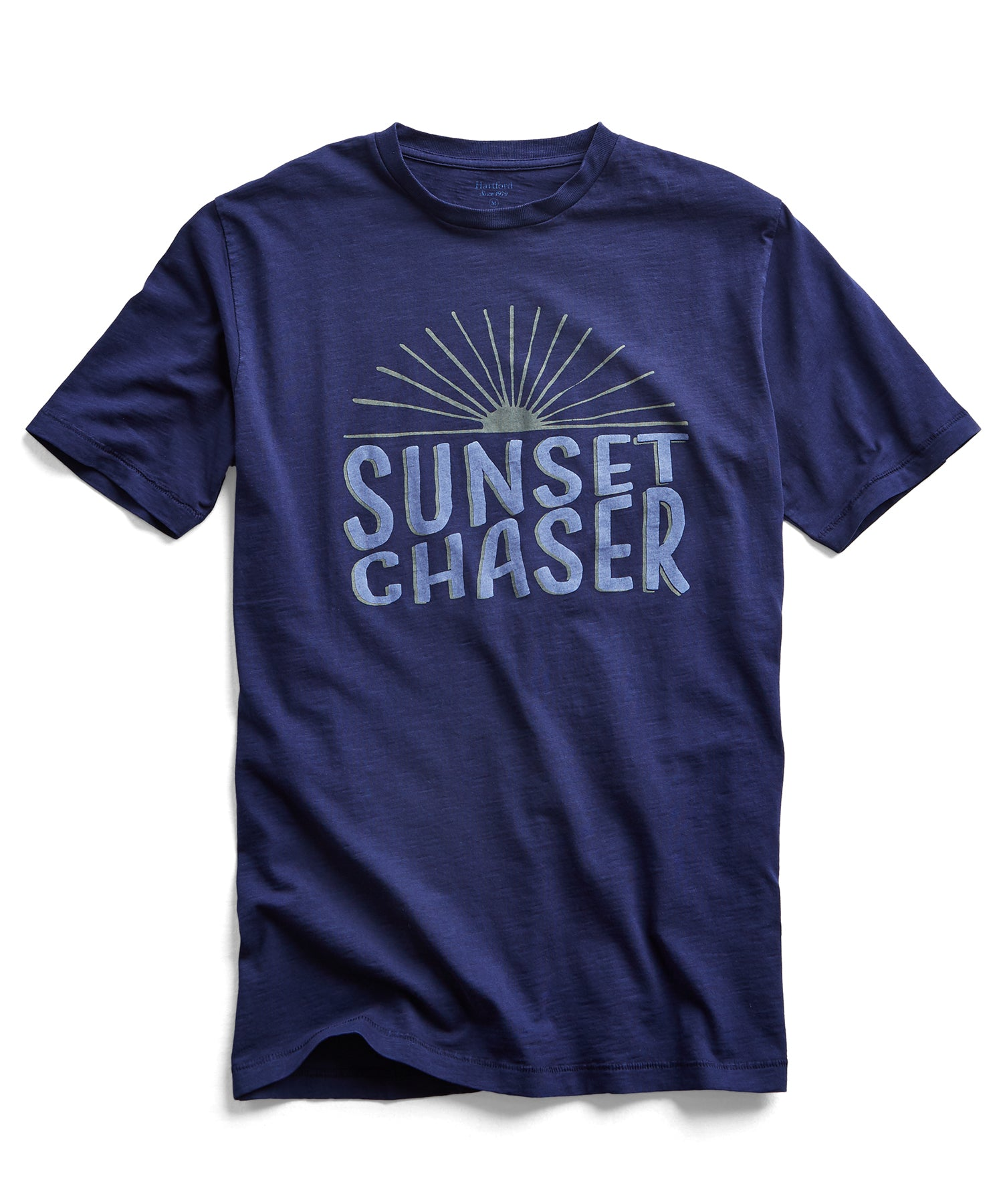 Hartford Sunset Chaser Tee in Blue
