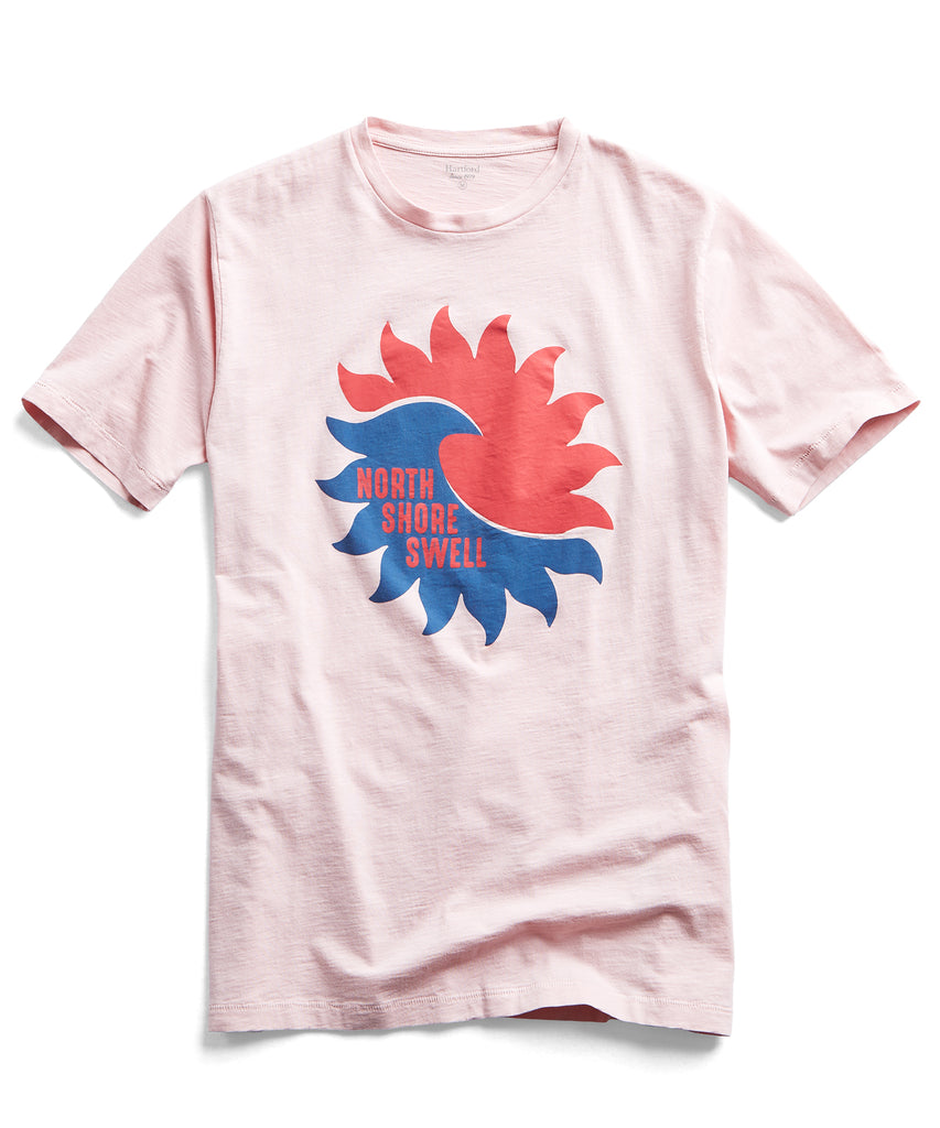 Hartford Swell Tee in Rose