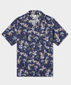 Hartford Blue Jungle Short Sleeve Shirt