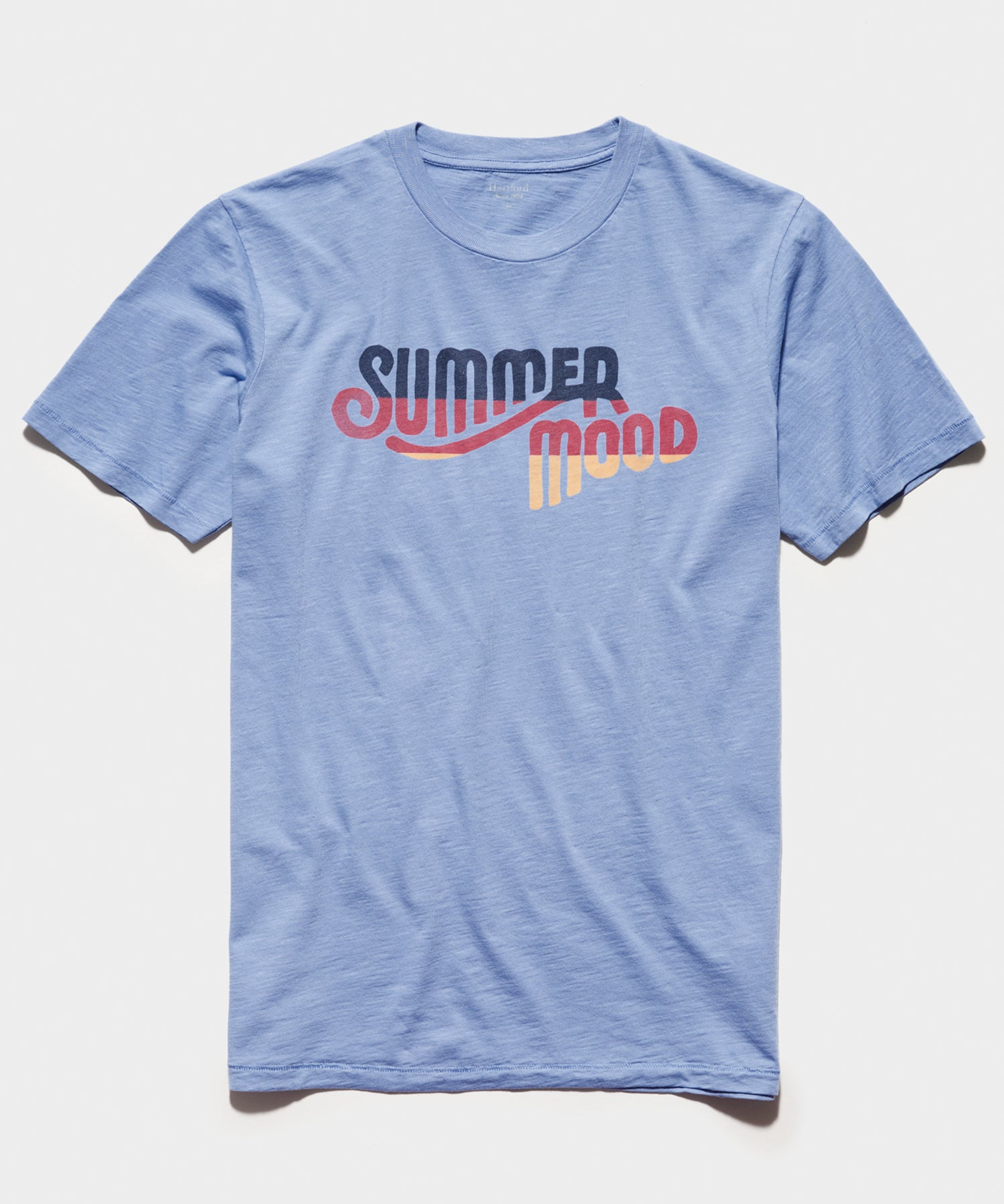 Hartford 'Summer Mood' T-Shirt in Chambray Blue