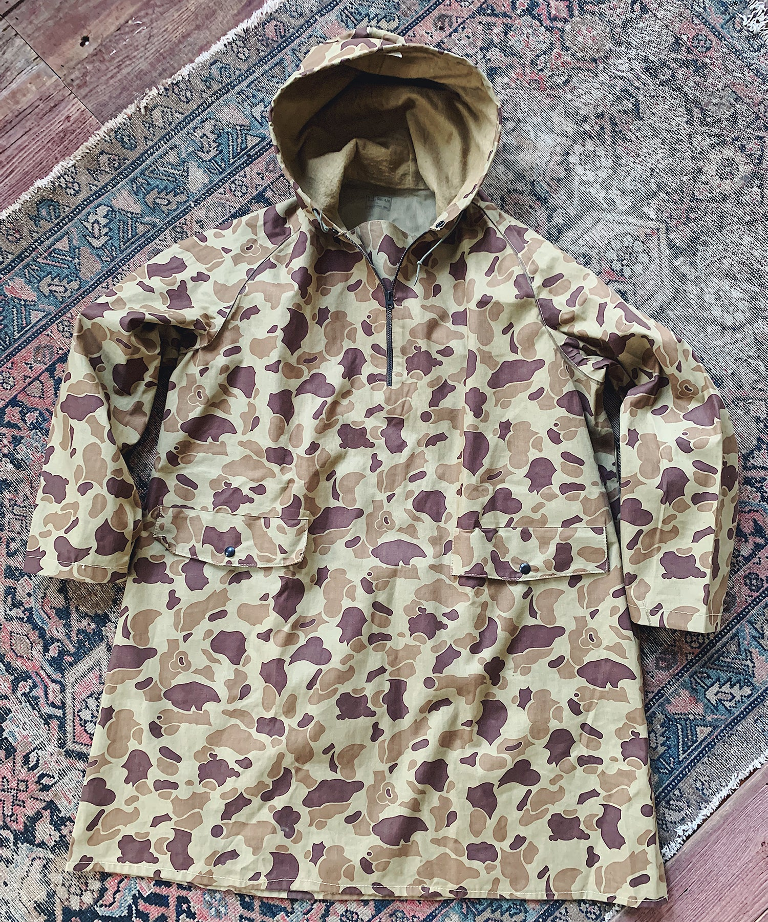 Item #27 - Todd Snyder x Wooden Sleepers 1940's Anorak in Duck Camo - SOLD OUT