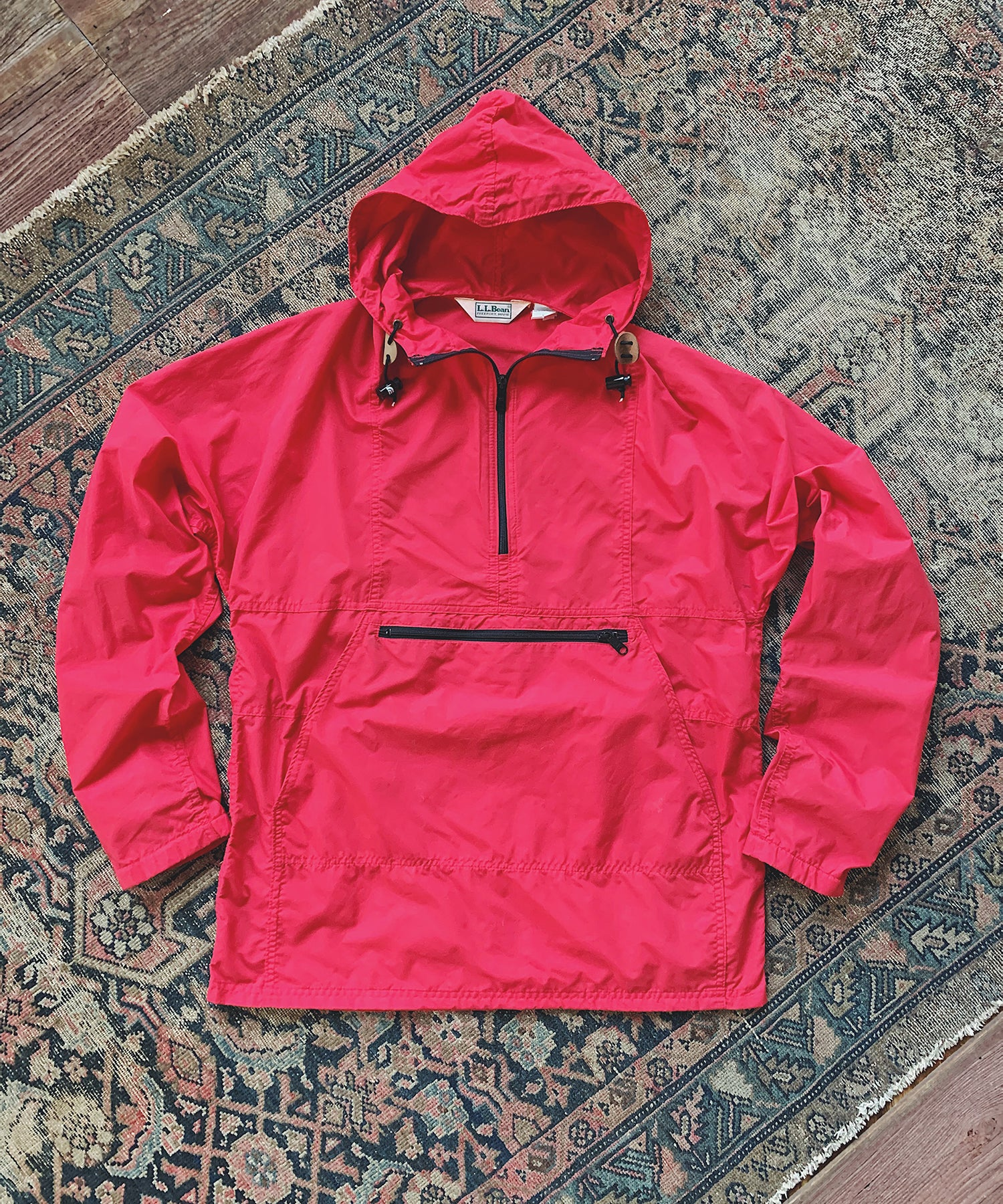 Item #9 -  Todd Snyder x Wooden Sleepers 1980's Anorak in Red- SOLD OUT