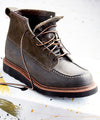 Exclusive Red Wing X Todd Snyder Moc Toe Boot in Charcoal