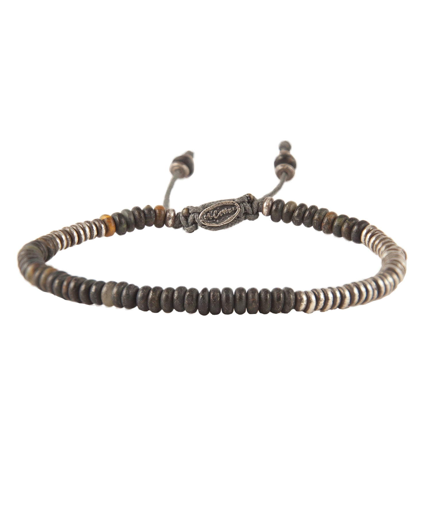M. Cohen Ingot Bracelet in Blue Tiger Eye
