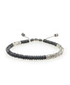 M. Cohen Round Table Bracelet in Black Onyx