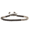 M. Cohen Ingot Bracelet in Frosted Black