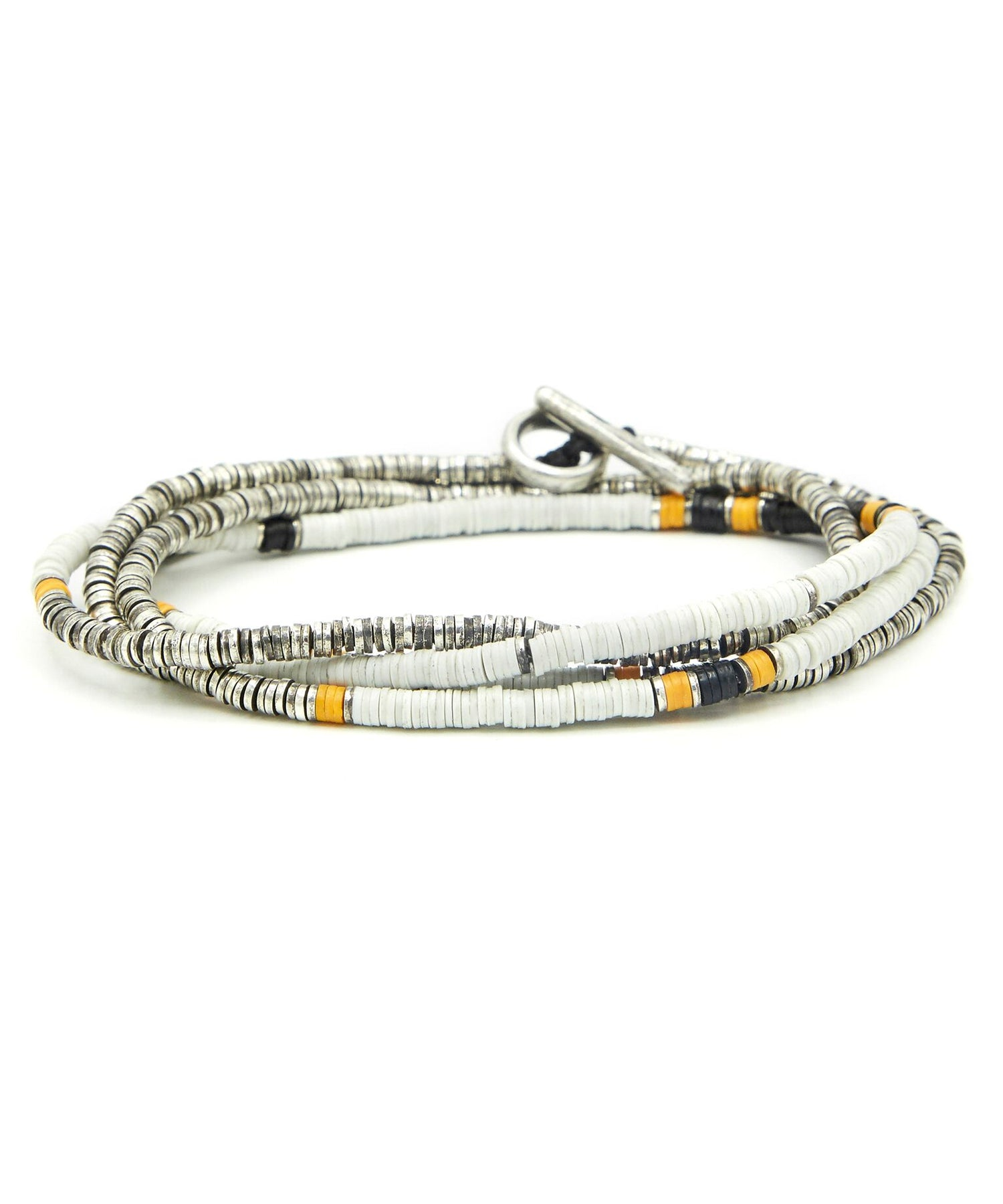 M. Cohen The Ghana MultiColor 4 Wrap Bracelet/Necklace