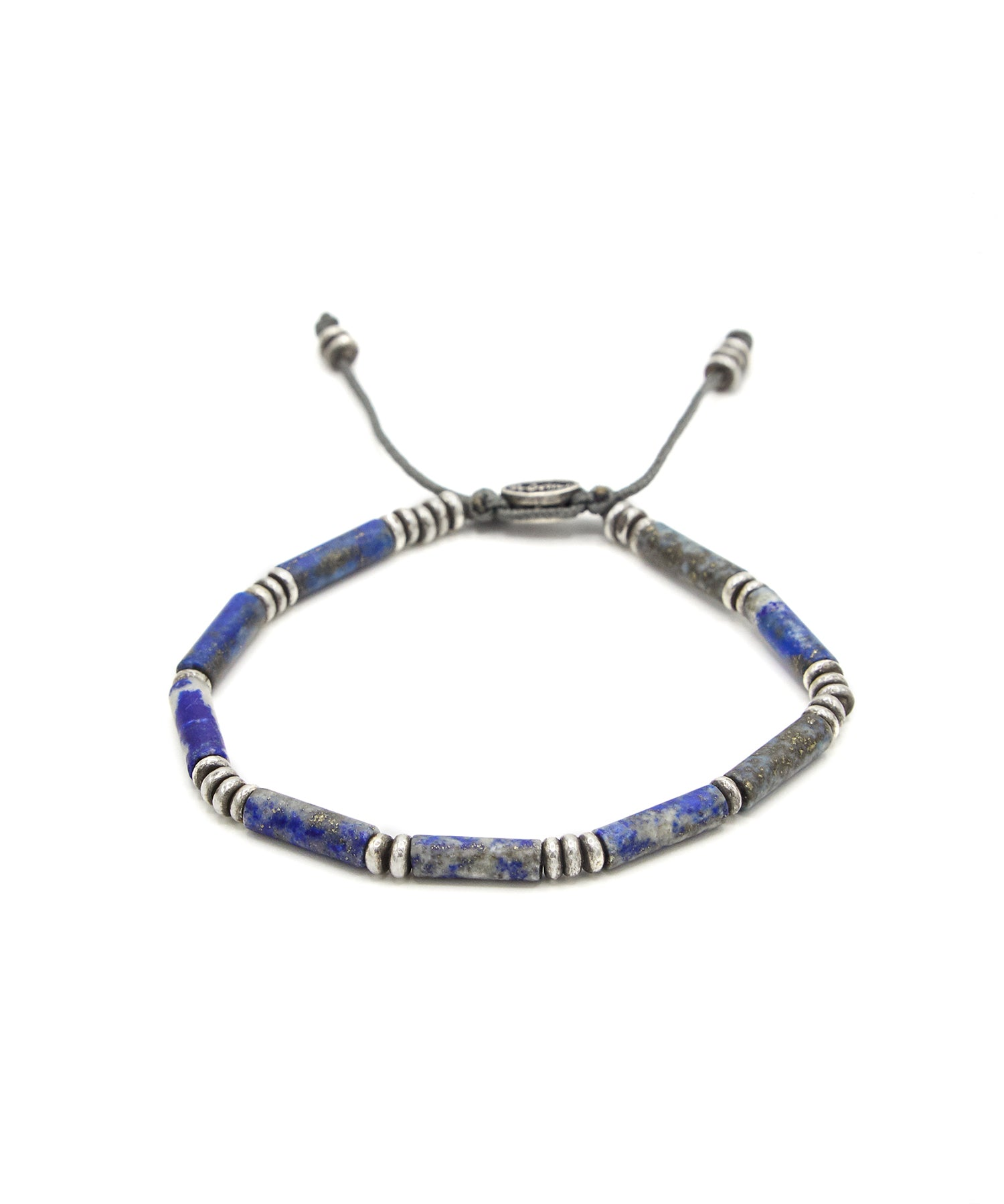 M. Cohen The Zinor Special Tube Cut Bracelet in Blue