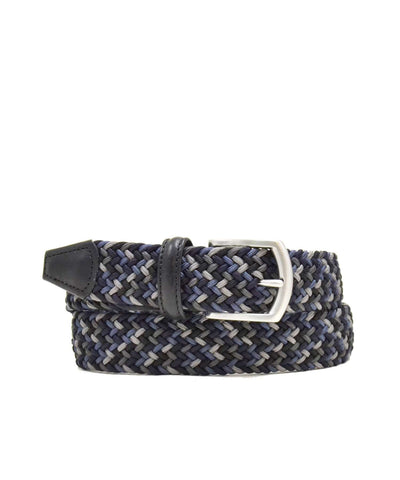 Anderson's Multi Woven Elastic Belt in Navy